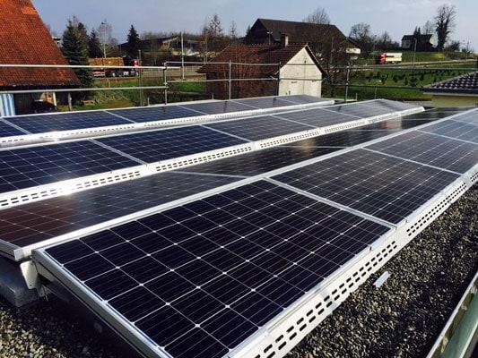 Referenzen, Hochdorf | Flachdach | Kunz Solar