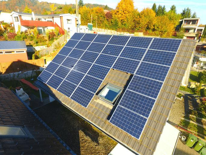 Referenzen, Oftringen | Steildach | Kunz Solartech
