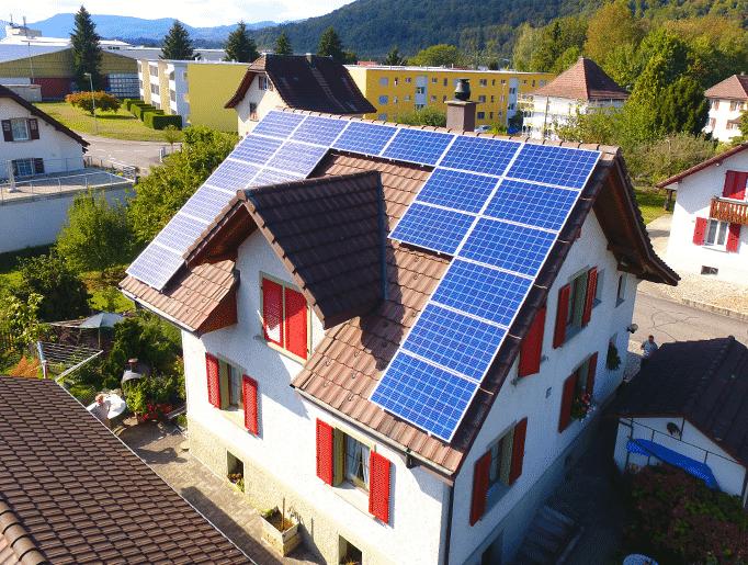 Referenzen, Rothrist | Steildach | Kunz Solartech