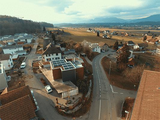 Referenzen, Wynau | Flachdach | Kunz Solartech