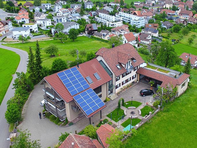 Referenzen, Gunzwil | Steildach | Kunz Solartech